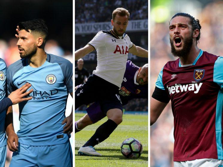 Will Sergio Aguero, Harry Kane and Andy Carroll make it into your Gameweek 33 Daily Fantasy team?