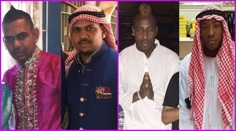 IPL 2020: Andre Russell and Sunil Narine 'Can Fit Anywhere', KKR Posts Pictures of Windies Players Donning Arab Attire; Says 'Coming Soon to UAE'