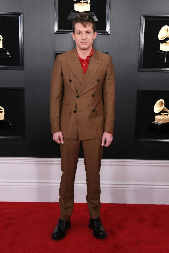 <p>Charlie Puth attends the 61st annual Grammy Awards at Staples Center on Feb. 10, 2019, in Los Angeles. </p>