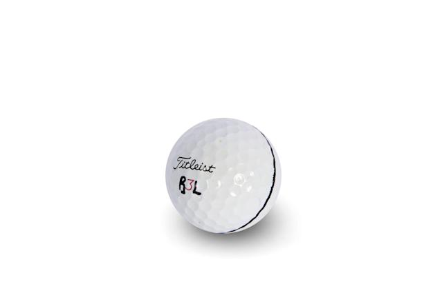 <p><strong>SPIN CONTROL</strong></p> <p>▶ I like the Pro V1x because it helps lower my usually high spin numbers.</p>