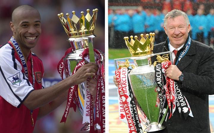 "Thierry Henry haa suggested the Premier League trophy should be named after Sir Alex Ferguson, to honour the Scot's unprecedented domestic success with Manchester United. Ferguson, 75, retired from football in 2013 after winning the last of his 13 Premier League titles as Manchester United manager. In a special programme for Sky Sports marking 25 years since the league's inception, Henry insisted the United legend should be immortalised on the Premier League trophy. Sir Alex Ferguson won 13 titles with Manchester United Credit: Getty Images ""When I met him for the first time, I called him Mr. Premier League. Thirteen. this is ridiculous. The trophy we see right there should have his name,"" said Henry. Henry appeared on the anniversary programme alongside former Manchester United captain Roy Keane and Kenny Dalglish, who won the title with Blackburn in 1995.  Thierry Henry now works as a pundit for Sky Sports Credit: Getty Images  ""People might disagree with this, and I'm not a Man United fan. Thirteen times? This is too much."" The Frenchman, who turns 40 today, hailed Ferguson's ability to continuously adapt and rebuld his team, as well as is coaching staff. ""His ability to change his staff, bring a new number two and a new voice helped,"" said Henry. ""I think he knew what he wasn't good at and so he selected coaches to do the stuff he wasn't good at.""  Thierry Henry has accused of Arsenal of being 'predictable' Credit: Getty Images  Henry recently slammed his former club Arsenal for 'stagnating' under Arsene Wenger. Speaking on Sky Sports' new programme, The Debate, the Frenchman, who rejected a coaching role with the club last year, suggested Arsenal have not remedied the defensive issues that have dogged them in recent seasons. ""I watched the game and I could tell you what was about to happen. Every time Leicester had the ball I thought they were going to score and every time we had the ball I thought we were going to score. ""I've seen it so many times: are you always going to score four and concede three? At one point you're going to get found out."""
