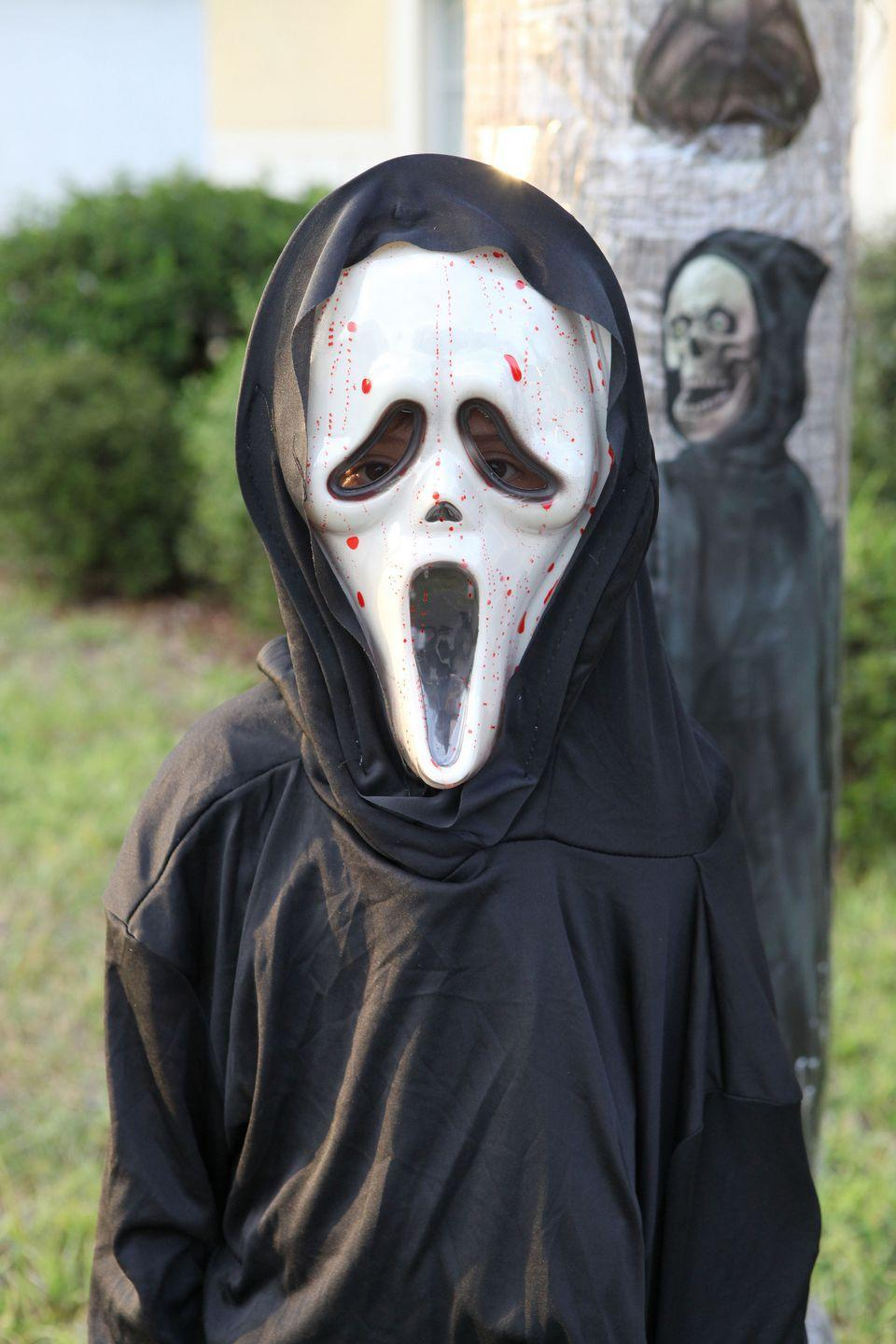 <p>The movie <em>Scream</em>, which premiered on December 20, 1996, would go on to inspire one of the most popular costumes of the decade.</p>