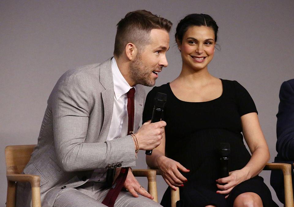 "<p>Morena Baccarin answered the question on everyone's mind: What is it like to kiss a superhero? </p><p>""I keep saying that kissing him in that mask is like kissing a giant latex condom,"" she said <a href=""https://people.com/movies/morena-baccarin-compares-kissing-ryan-reynolds-in-deadpool-2-to-kissing-a-giant-latex-condom/"" rel=""nofollow noopener"" target=""_blank"" data-ylk=""slk:on kissing Reynolds"" class=""link rapid-noclick-resp"">on kissing Reynolds</a> in <em> Deadpool</em>. ""It basically just smells like rubber the entire time.""</p>"