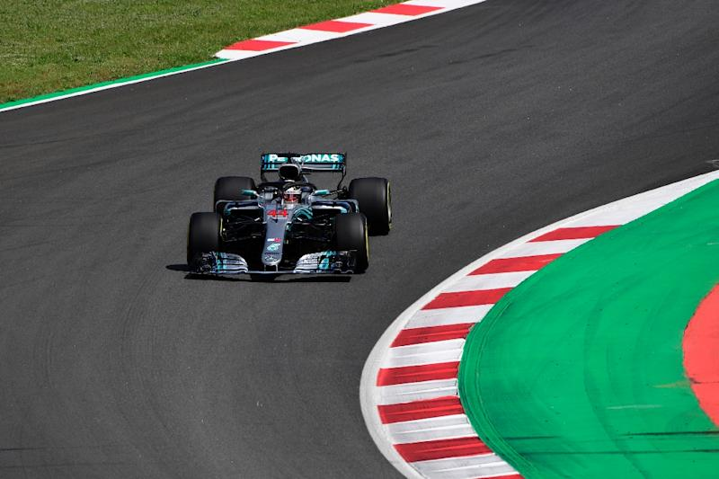 Mercedes sets the pace in practice for Spanish GP