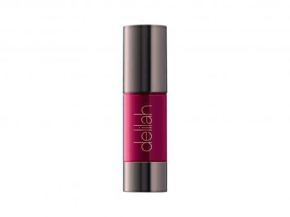This wine-coloured liquid lipstick is a bold shade that will last all-day (Look Fantastic)