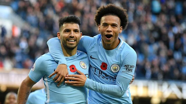 A Premier League title-winning campaign with Manchester City saw Leroy Sane recognised as the PFA Young Player of the Year.