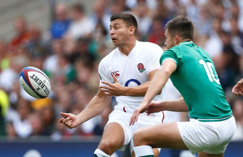 Rugby World Cup warm-up match - England v Ireland