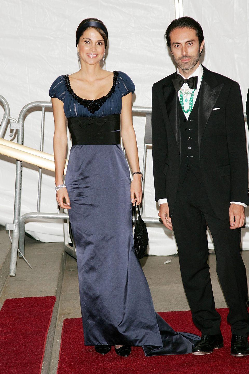 """<p>Wearing a black belted gown to the """"Poiret King of Fashion""""-themed Met Gala.</p>"""