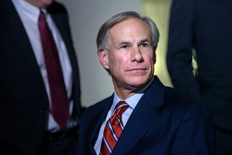 "Texas Governor Greg Abbott defended the law as a ""constitutional exercise of Texas' lawmaking authority that was correctly and unanimously upheld by the Fifth Circuit Court of Appeals"" (AFP Photo/Brendan Smialowski)"