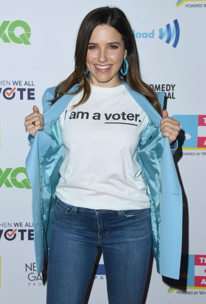 Sophia Bush attends the Telethon for America on Nov. 5, 2018, in L.A. (Photo: Jon Kopaloff/Getty Images)