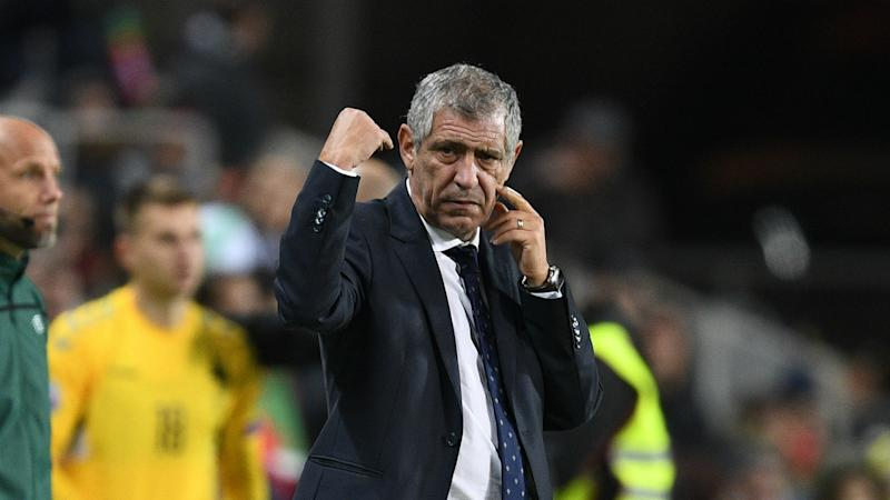 Fernando Santos: Portugal a candidate, not favourites for Euro 2020