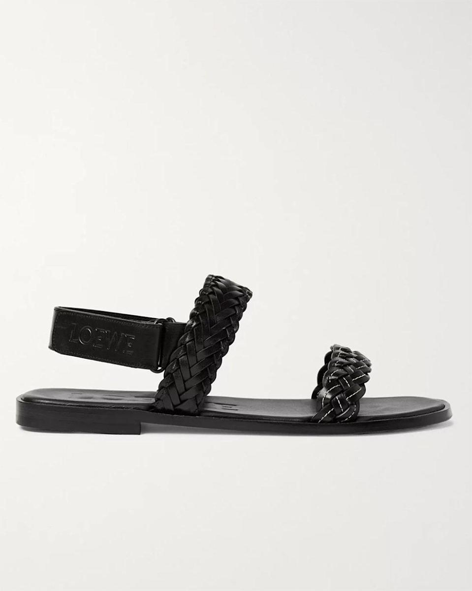 """""""There is nothing we don't love about Loewe! These leather sandals are the perfect companion for all your summer travel."""" - <em>MP</em> $590, Mr. Porter. <a href=""""https://www.mrporter.com/en-us/mens/product/loewe/shoes/summer-shoes/plus-paula-s-ibiza-braided-leather-sandals/30049528927124186"""" rel=""""nofollow noopener"""" target=""""_blank"""" data-ylk=""""slk:Get it now!"""" class=""""link rapid-noclick-resp"""">Get it now!</a>"""