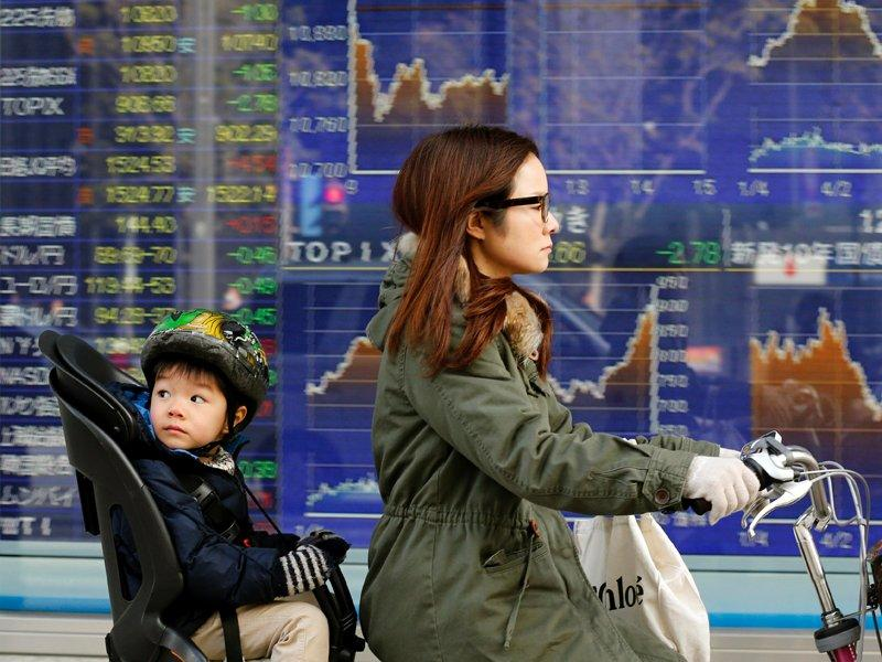 Japan sets two per cent inflation target