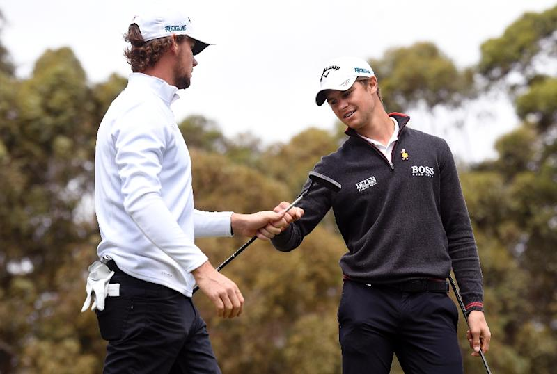 Smith, Leishman snare a share of World Cup lead