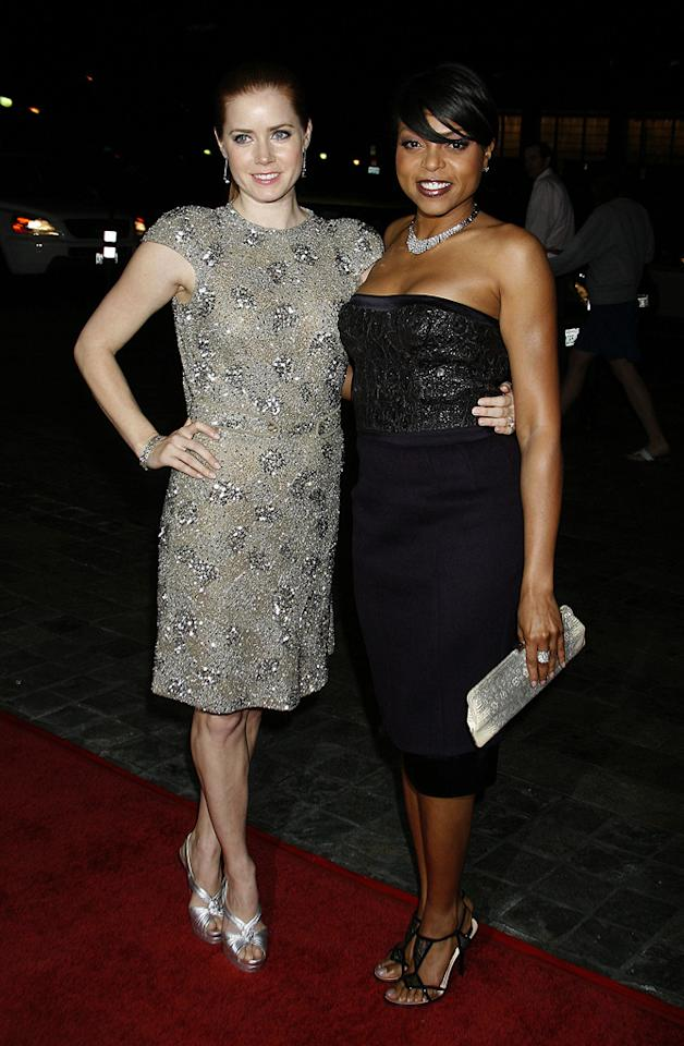 """<a href=""""http://movies.yahoo.com/movie/contributor/1800018895"""">Amy Adams</a> and <a href=""""http://movies.yahoo.com/movie/contributor/1804514499"""">Taraji P. Henson</a> at the 61st Annual Directors Guild of America Awards in Los Angeles - 01/31/2009"""
