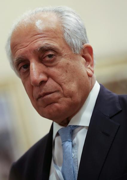 US envoy Zalmay Khalilzad led nine rounds of talks with the Taliban (AFP Photo/KARIM JAAFAR)