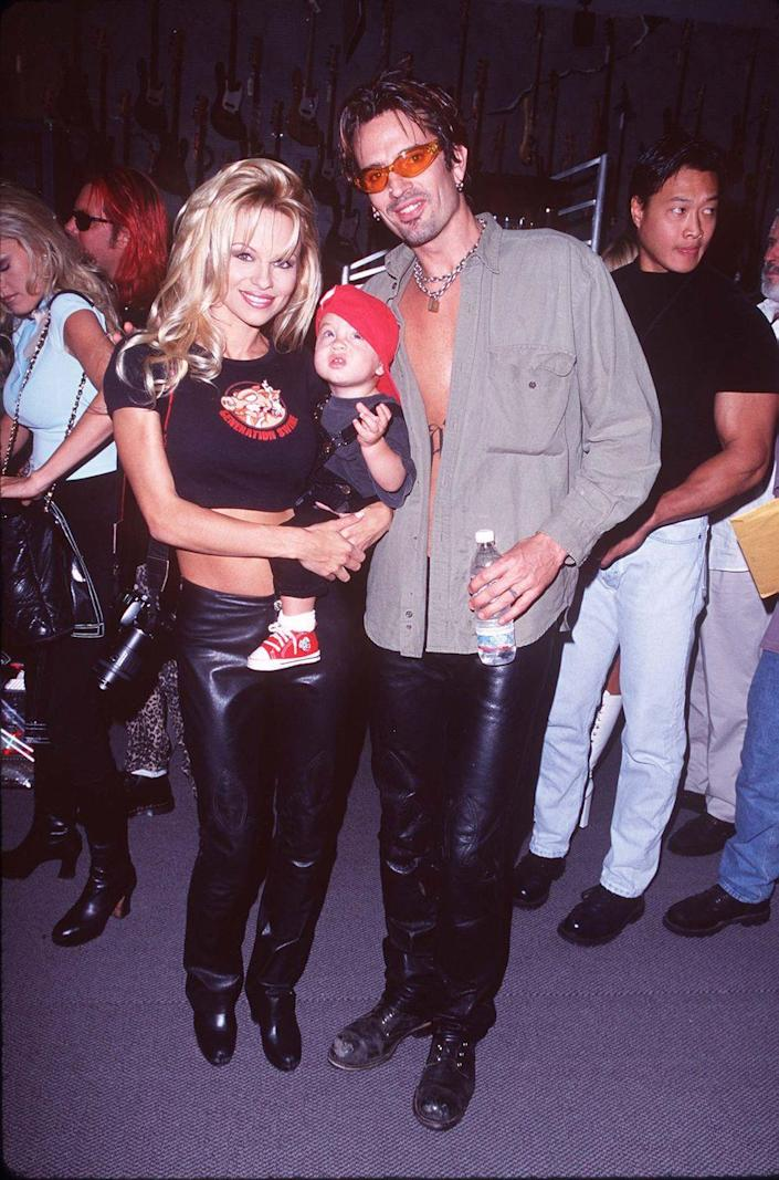 <p>The eldest son of rocker Tommy Lee and model Pamela Anderson was born on June 5, 1996.</p>
