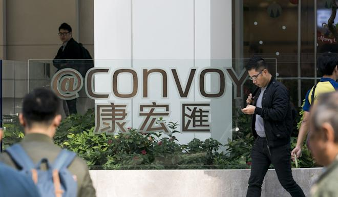 Convoy Global Holdings is Hong Kong's largest independent financial advisory firm. Photo: Bloomberg
