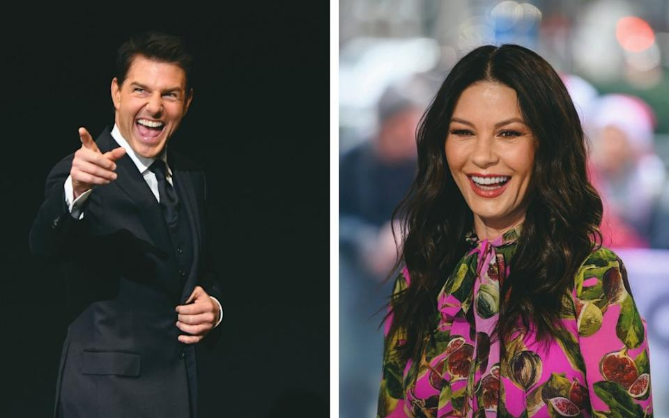People now want 'imperfectly perfect teeth', rather than pearly whites like Tom Cruise's and Catherine Zeta-Jones's - Getty Images