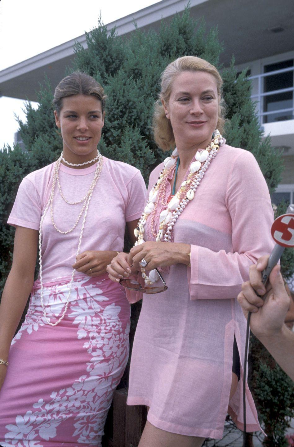 """<p>In 1978, the 21-year-old princess accompanied her mother to the Ocean City, the coastal New Jersey town where <a href=""""https://www.townandcountrymag.com/society/a8397/grace-kelly-family-philadelphia/"""" rel=""""nofollow noopener"""" target=""""_blank"""" data-ylk=""""slk:Grace Kelly spent her summers"""" class=""""link rapid-noclick-resp"""">Grace Kelly spent her summers</a> growing up.</p>"""