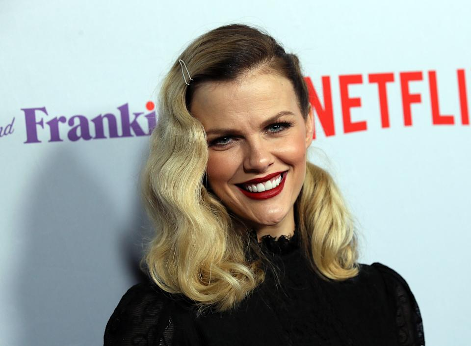Brooklyn Decker is opening up about her difficult postpartum experience (Getty Images)