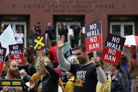 US court to hear case against Donald Trump's travel ban