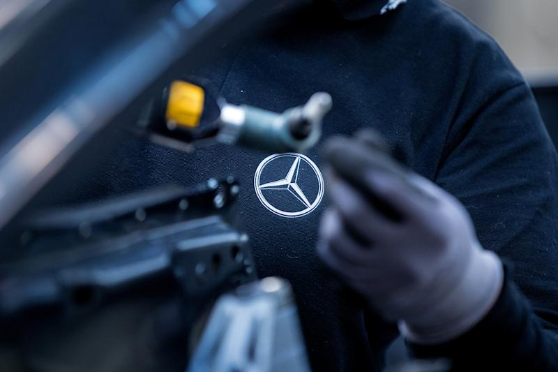 Mercedes owner issues third profit warning in a year over diesel costs