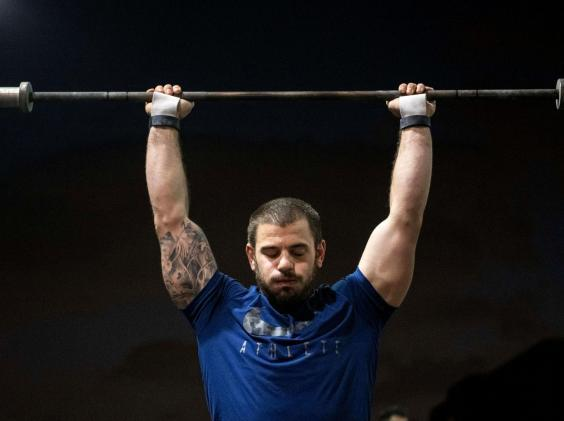 2016, 2017, 2018, and 2019 CrossFit champion Mat Fraser (REX)
