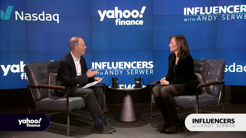 Nasdaq CEO Adena Friedman appears on Influencers with Andy Serwer.