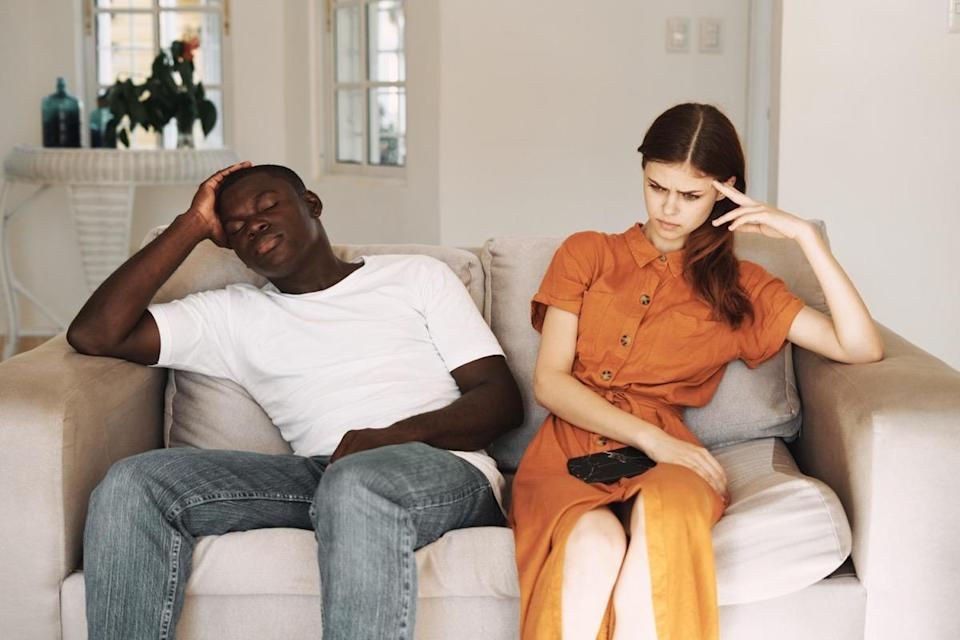 """While the last thing couples want to think about is breaking up, the sad reality is that it happens—a lot. In fact, according to recent data from the <a href=""""https://www.apa.org/topics/divorce/"""" rel=""""nofollow noopener"""" target=""""_blank"""" data-ylk=""""slk:American Psychological Association"""" class=""""link rapid-noclick-resp"""">American Psychological Association</a>, as many as 50 percent of marriages in the United States eventually end in divorce. But how can you tell whether your relationship will survive? Well, there are surefire predictive tells like your bedroom habits, the way you argue, and how often you communicate. Even the way you carry your day-to-day conversations can shed light on your relationship's longevity. Keep reading to discover some of the most common reasons why relationships fall apart. And for more things you should stop doing with your spouse, check out the <a href=""""https://bestlifeonline.com/bad-dating-and-marriage-tips/?utm_source=yahoo-news&utm_medium=feed&utm_campaign=yahoo-feed"""" rel=""""nofollow noopener"""" target=""""_blank"""" data-ylk=""""slk:50 Relationship Tips That Are Actually Terrible Advice"""" class=""""link rapid-noclick-resp"""">50 Relationship Tips That Are Actually Terrible Advice</a>. <div class=""""number-head-mod number-head-mod-standalone""""> <h2 class=""""header-mod""""> <div class=""""number"""">1</div> <div class=""""title"""">You withdraw during arguments.</div> </h2> </div>"""