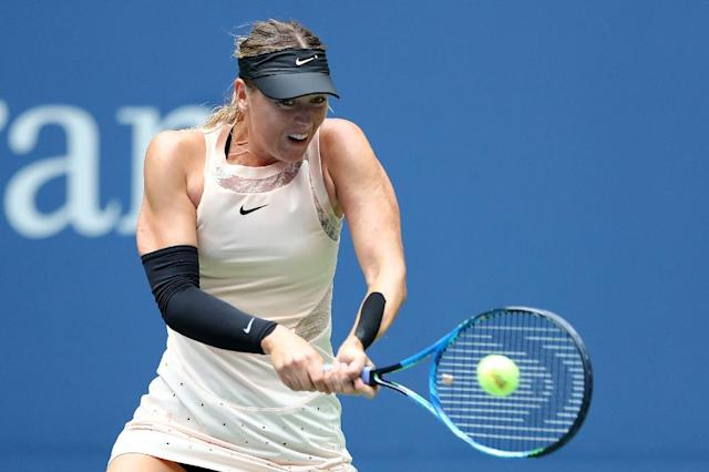 Sharapova has not played since January (AFP Photo/ELSA)