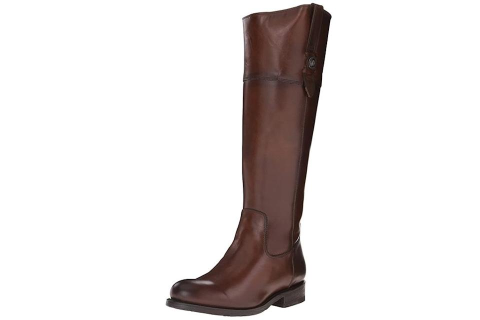 riding boots, tan, brown, leather, frye