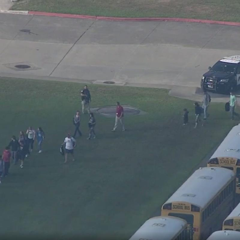 At Least 10 Killed In Shooting Reported At Santa Fe High