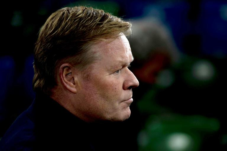 Koeman was taken to hospital in early May