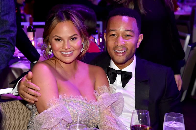 Of Course Chrissy Teigen Had the Best Reactions During John Legend's Live-Stream Concert