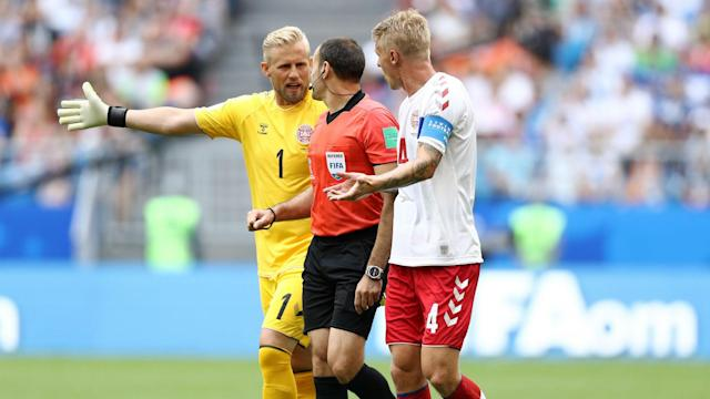 The VAR system dominated the headlines once again in Denmark's draw with Australia and Kasper Schmeichel feels the technology is not ready.