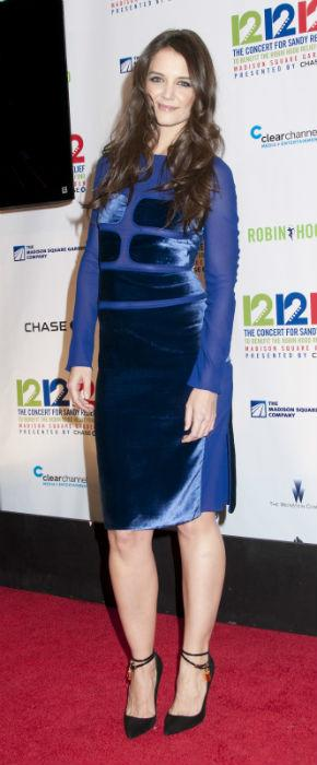 Katie Holmes Goes Sexy As Blake Lively Is Super Chic At Concert For Sandy Relief
