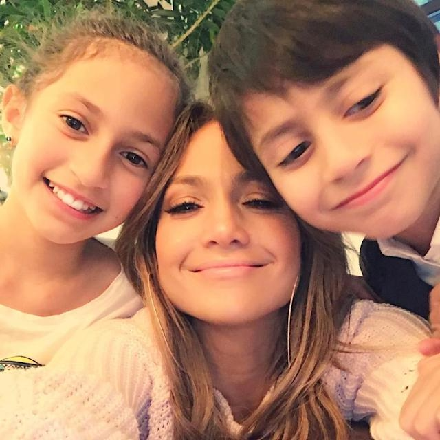 "<p>J.Lo was feeling grateful on Mother's Day. ""<span title=""Edited"">Mothers Day!!!"" she exclaimed alongside a photo of her and her twins, Emme and Max. ""Happy Mother's Day to all the beautiful Mamas!!"" </span>(Photo: <a href=""https://www.instagram.com/p/BUFh40dl1Fa/"" rel=""nofollow noopener"" target=""_blank"" data-ylk=""slk:Jennifer Lopez via Instagram"" class=""link rapid-noclick-resp"">Jennifer Lopez via Instagram</a>) </p>"