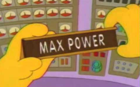 <span>A brilliant name might help your membership cause </span> <span>Credit: The Simpsons  </span>