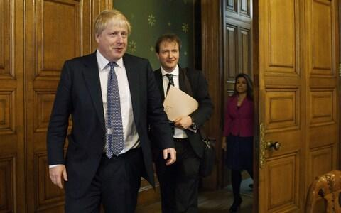 Mr Ratcliffe and Mr Johnson pictured here in 2017 - Credit: Stefan Rousseau/PA Wire