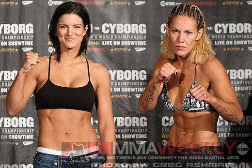 Ronda Rousey Would Fight Gina Carano or Cris Cyborg, but Only Wants to Beat Up One