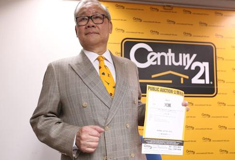 Henry Choi, Director of Century21 Surveyor. Photo: K.Y. Cheng