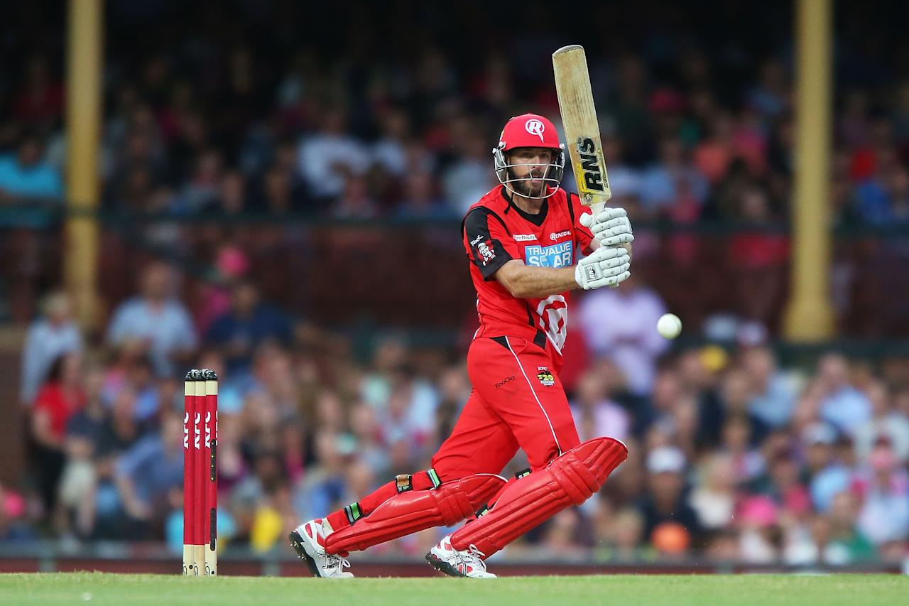 SYDNEY, AUSTRALIA - JANUARY 09:  Ben Rohrer of the Renegades bats during the Big Bash League match between the Sydney Sixers and the Melbourne Renegades at SCG on January 9, 2013 in Sydney, Australia.  (Photo by Brendon Thorne/Getty Images)
