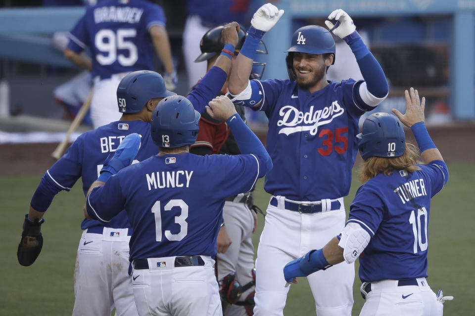The Dodgers have a terrifying, stacked lineup. Is this the year they finally win the World Series? (AP Photo/Marcio Jose Sanchez)
