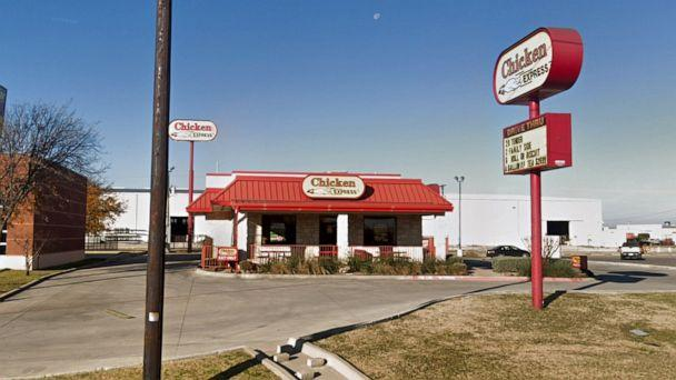 PHOTO: Chicken Express in Saginaw, Texas. An employee's manager sent her home for wearing a headscarf to work. (Google Maps Street View)
