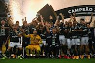 Palmeiras won the Copa Libertadores for the second time after beating Brazilian rivals Santos 1-0 in Saturday's final at the Maracana