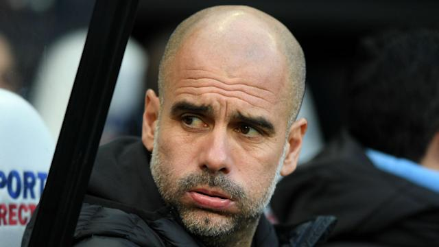 Manchester City's stuttering title defence has left Pep Guardiola wondering if his side has been left behind by Europe's giants.