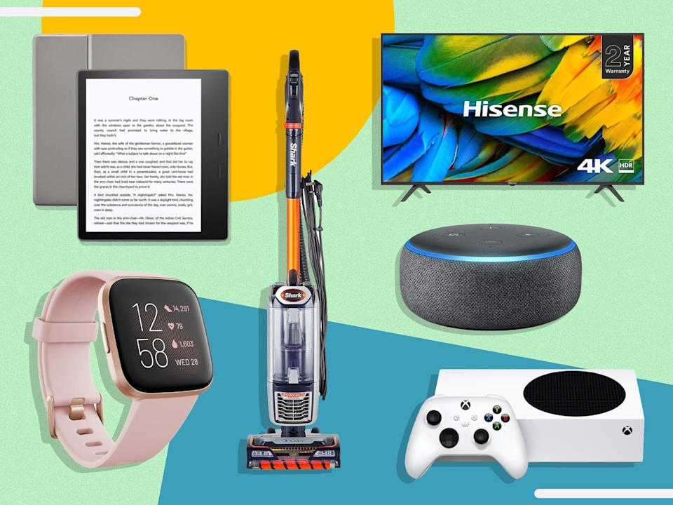 Follow for the best savings across tech, laptops, clothing, toys, home appliances and more   (The Independent)