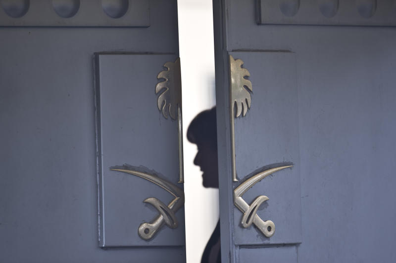 Police search Saudi consul's home in Khashoggi case