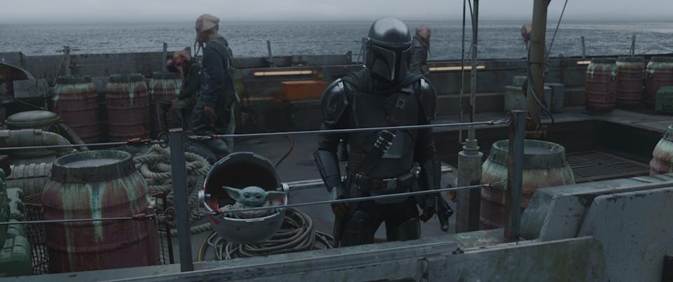 A still from Chapter 11 of The Mandalorian (Lucasfilm/Disney+)